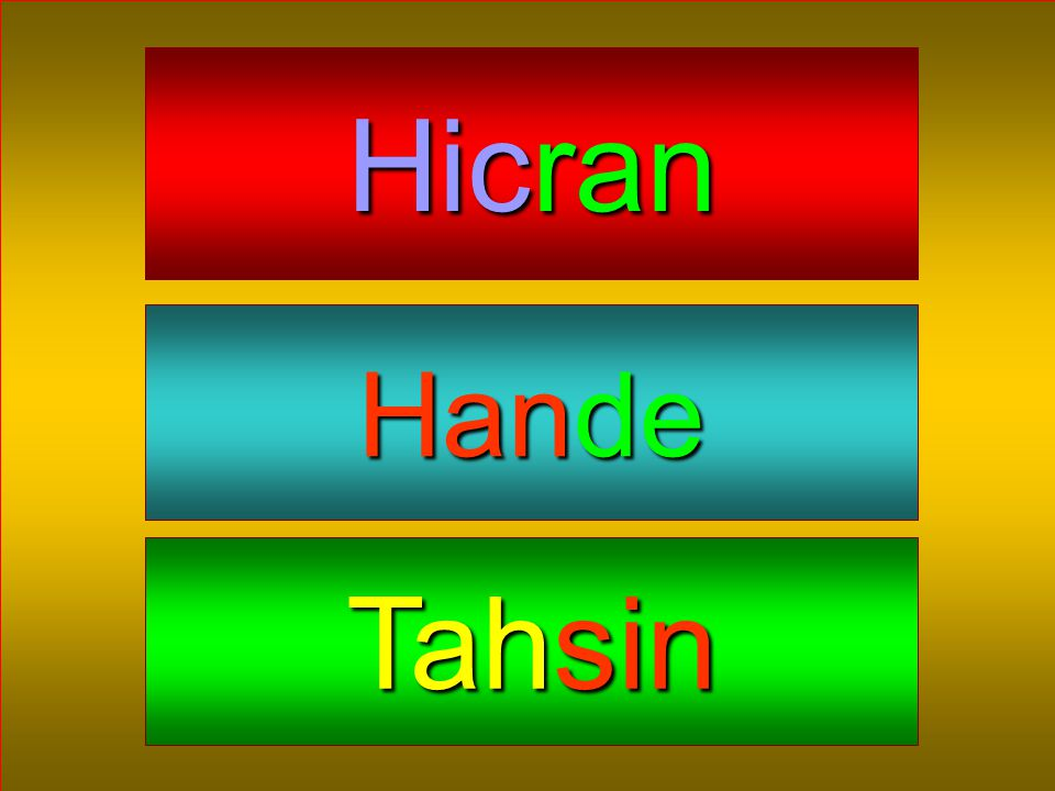 Hicran Hande Tahsin