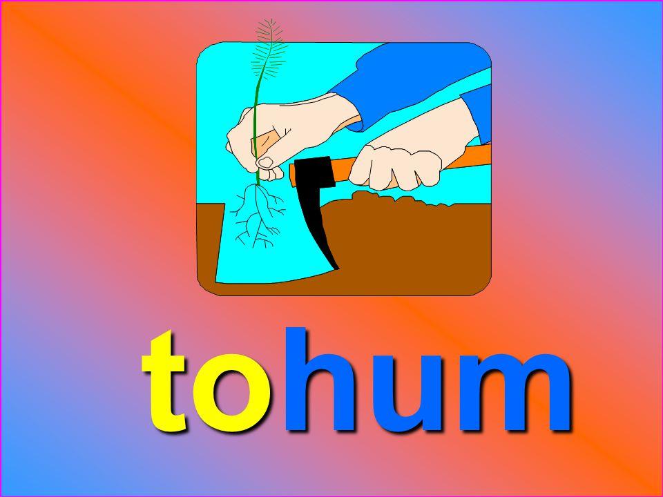 to hum