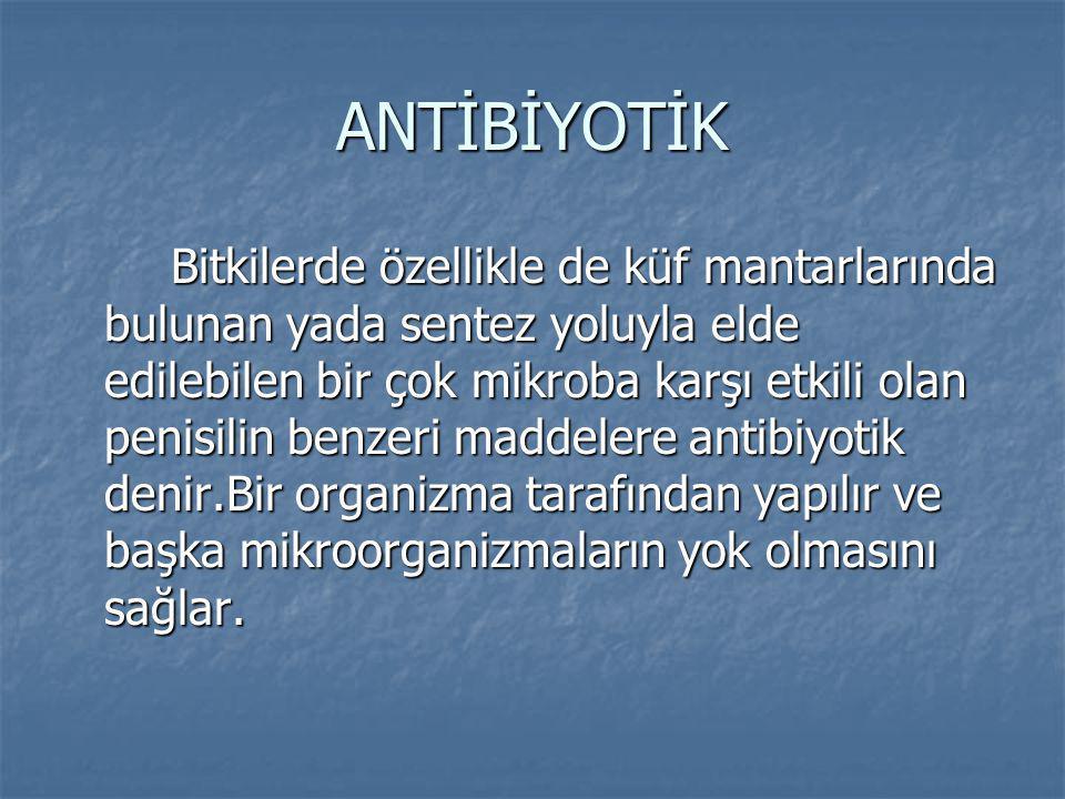 ANTİBİYOTİK