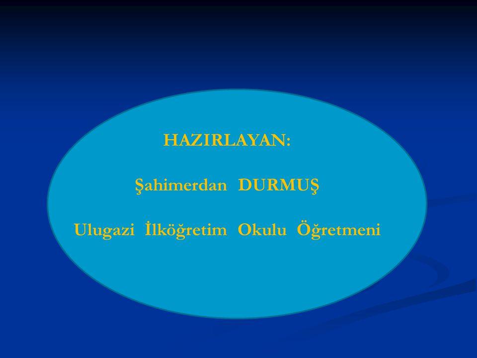 Ulugazi İlköğretim Okulu Öğretmeni