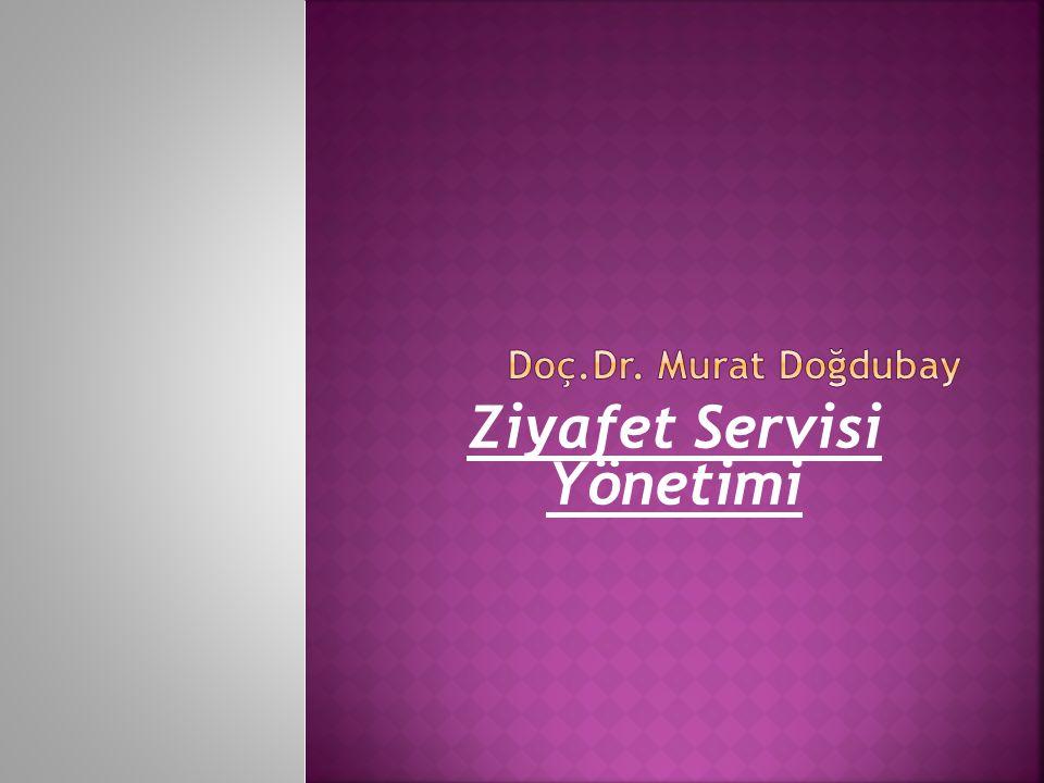 Ziyafet Servisi Yönetimi