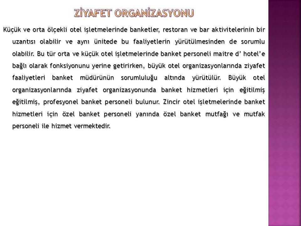 Zİyafet Organİzasyonu
