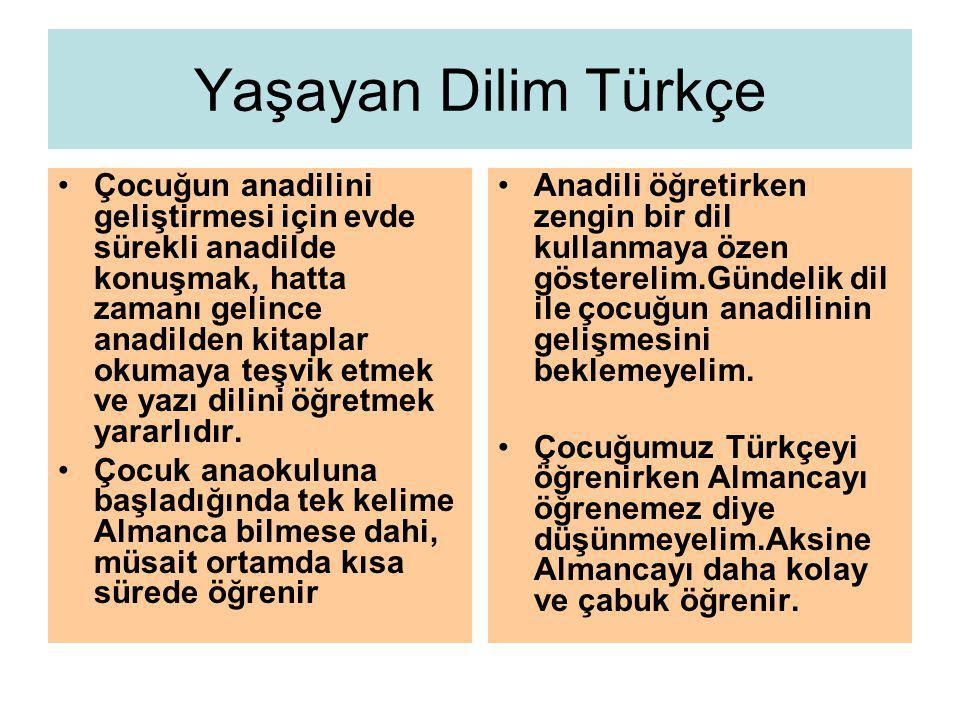 Yaşayan Dilim Türkçe