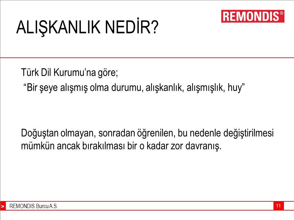 ALIŞKANLIK NEDİR Türk Dil Kurumu'na göre;