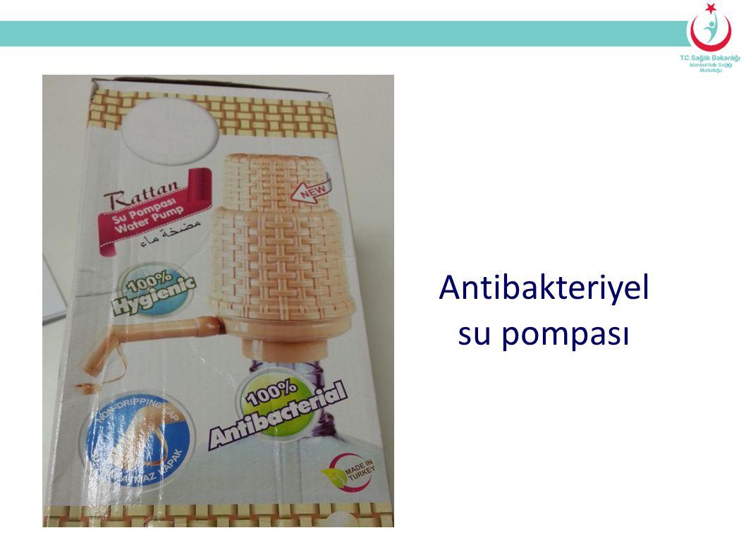 Antibakteriyel su pompası