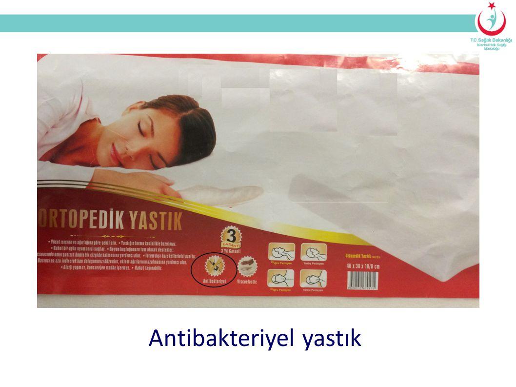 Antibakteriyel yastık