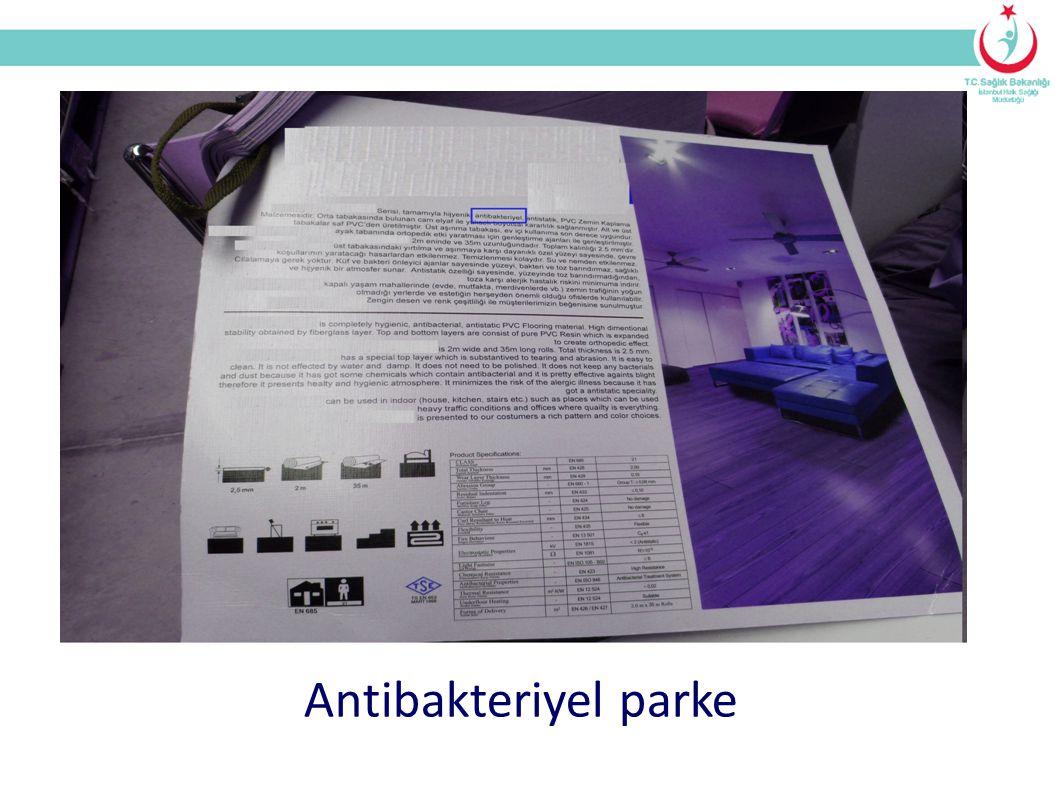 Antibakteriyel parke