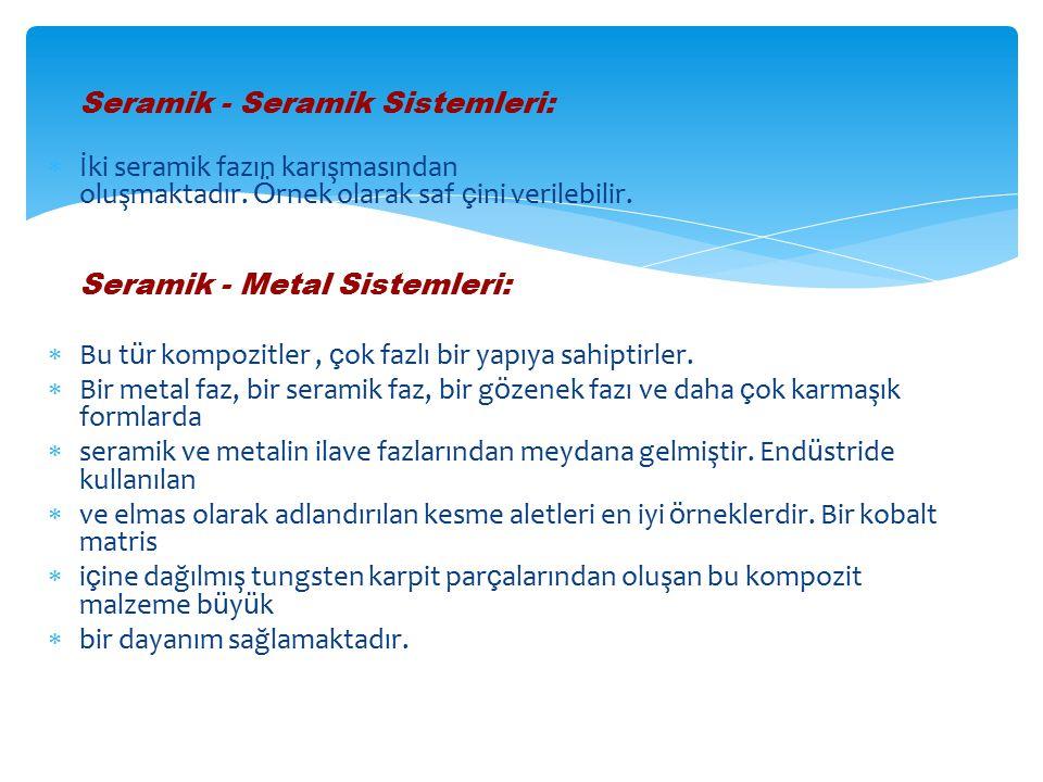 Seramik - Seramik Sistemleri: