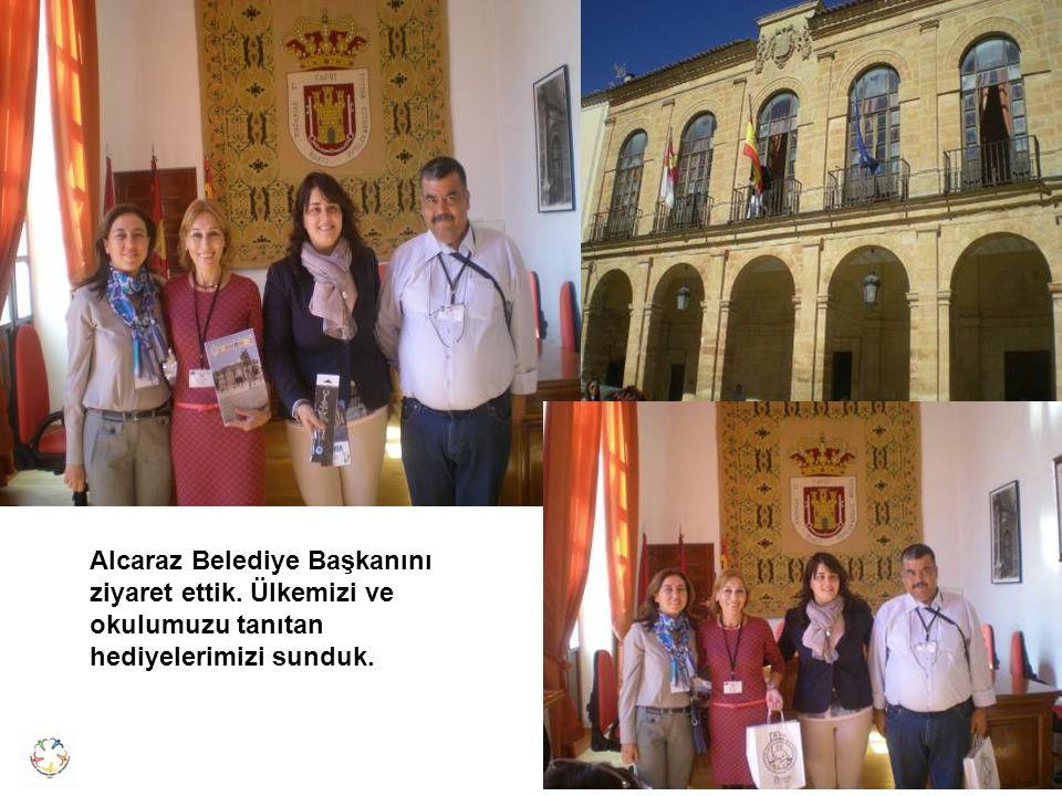 Alcaraz Belediye Başkanını ziyaret ettik