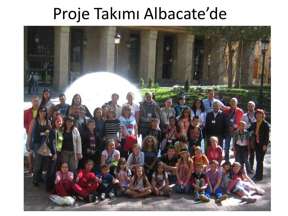 Proje Takımı Albacate'de