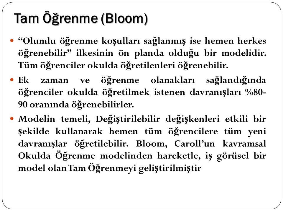Tam Öğrenme (Bloom)