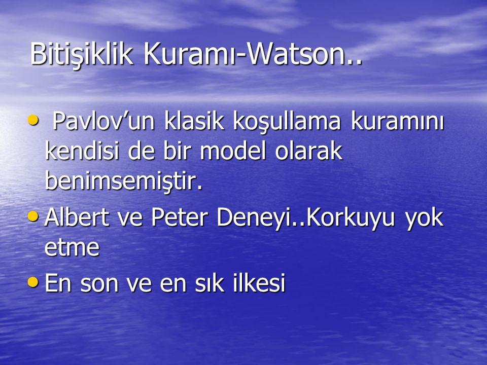 Bitişiklik Kuramı-Watson..