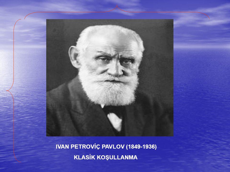 IVAN PETROVİÇ PAVLOV (1849-1936)
