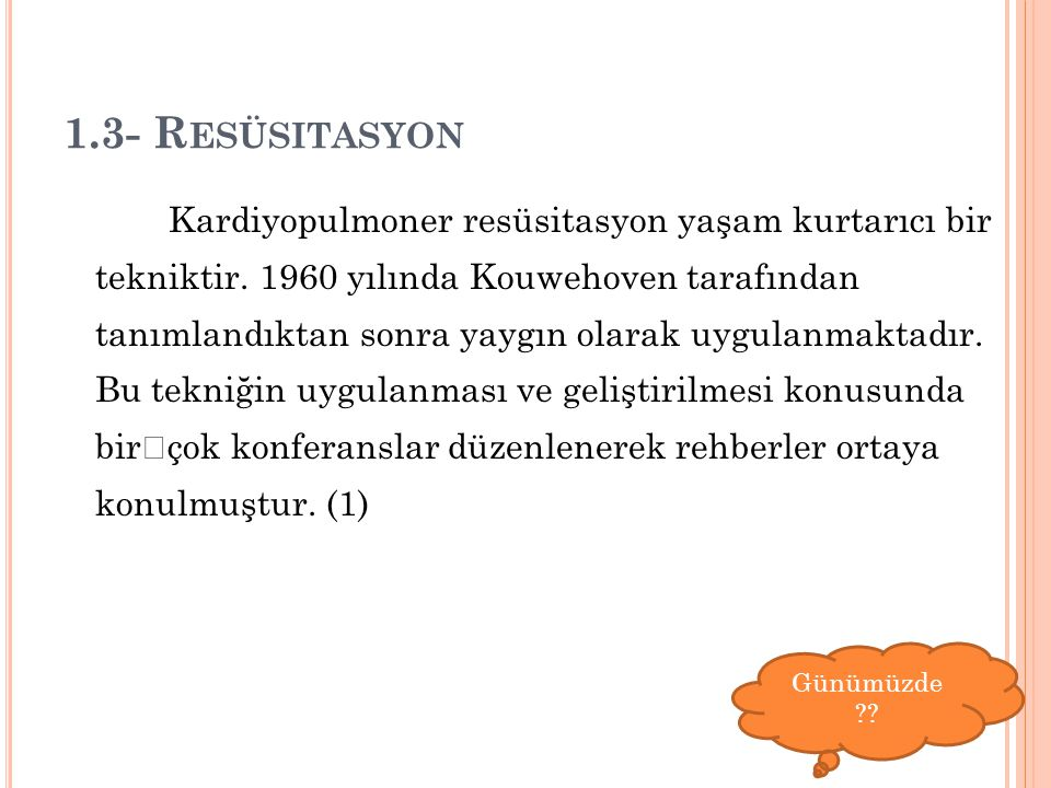 1.3- Resüsitasyon