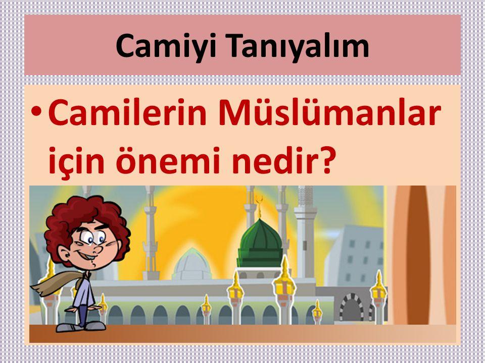 Camilerin Müslümanlar için önemi nedir