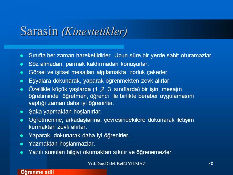 Sarasin (Kinestetikler)