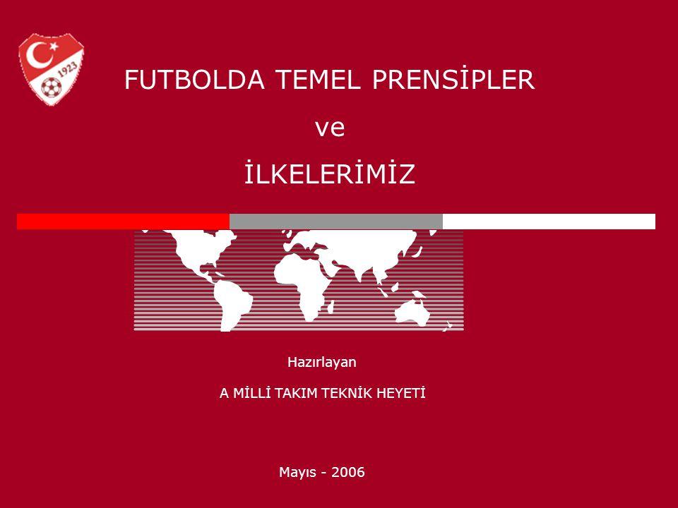 FUTBOLDA TEMEL PRENSİPLER ve İLKELERİMİZ