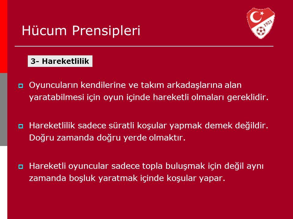 Hücum Prensipleri 3- Hareketlilik.