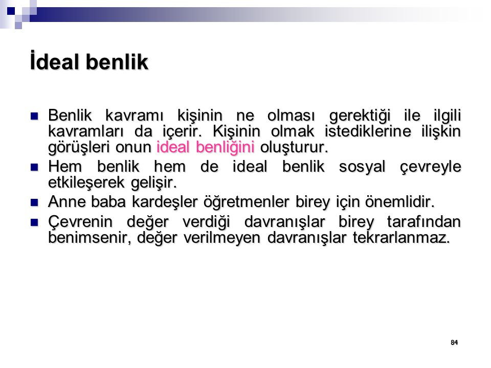 İdeal benlik