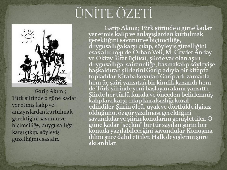 ÜNİTE ÖZETİ
