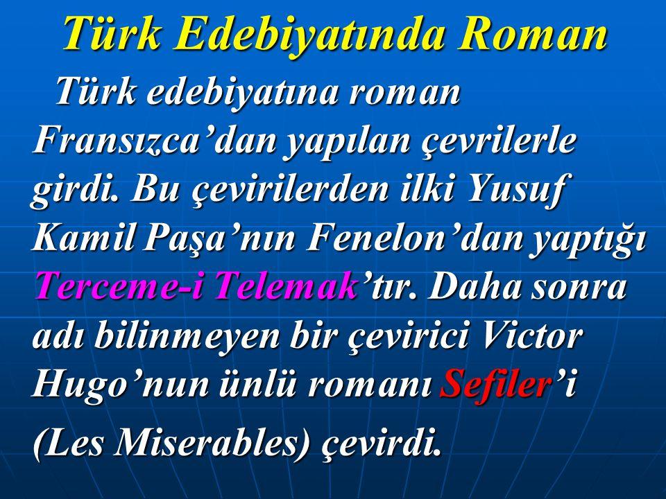 Türk Edebiyatında Roman