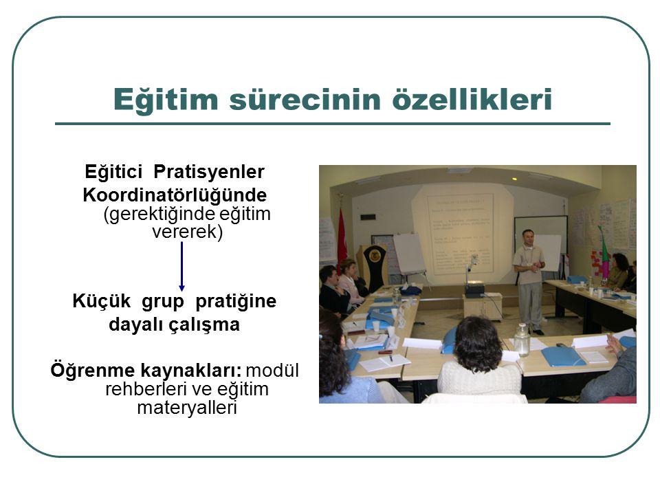 Eğitim sürecinin özellikleri