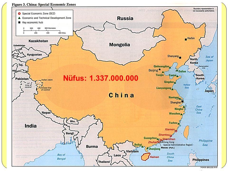 Nüfus: 1.337.000.000