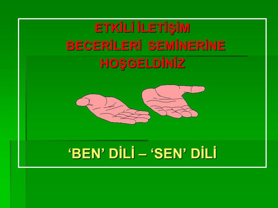 BECERİLERİ SEMİNERİNE