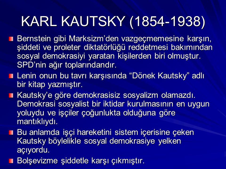KARL KAUTSKY (1854-1938)