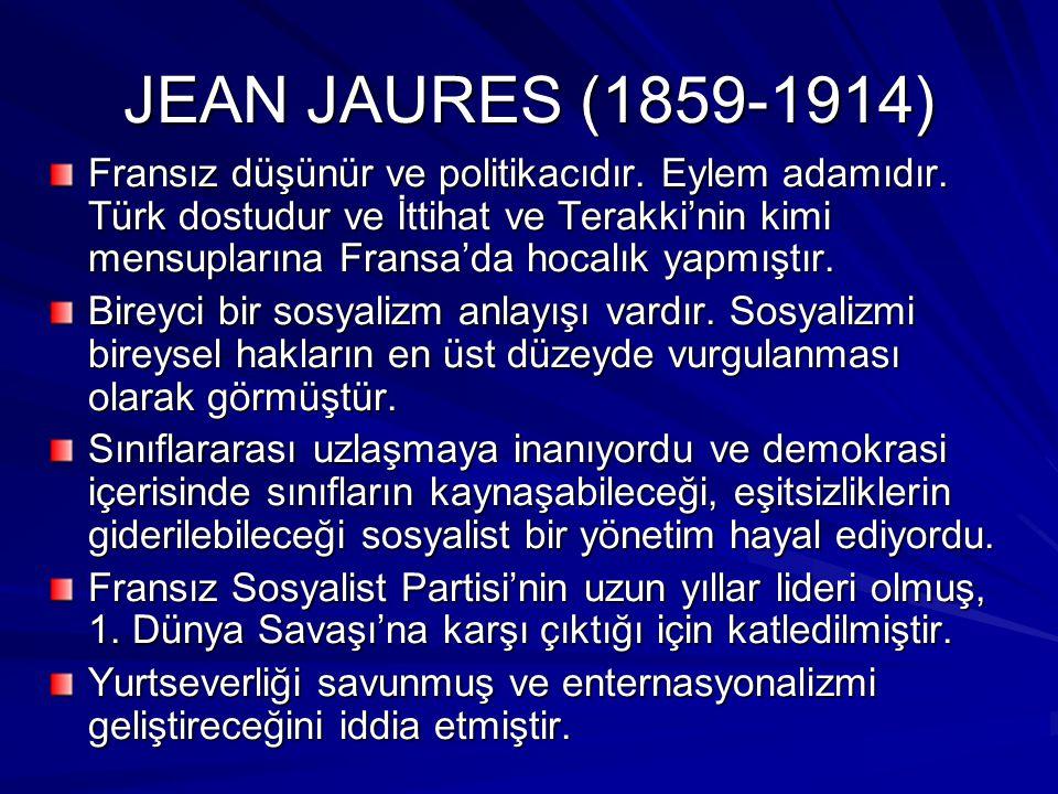 JEAN JAURES (1859-1914)