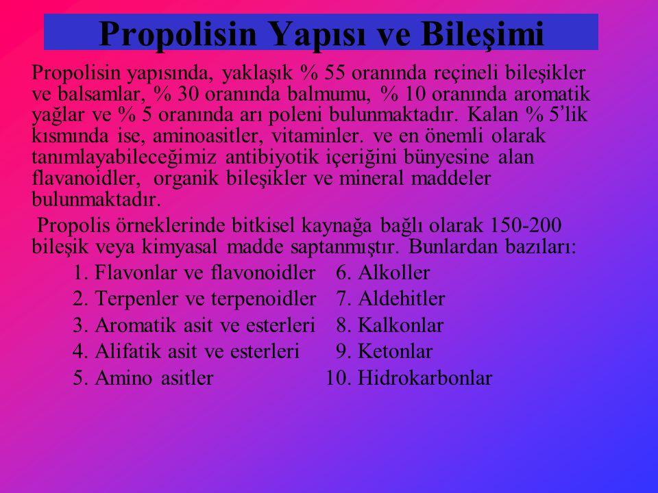 Propolisin Yapısı ve Bileşimi