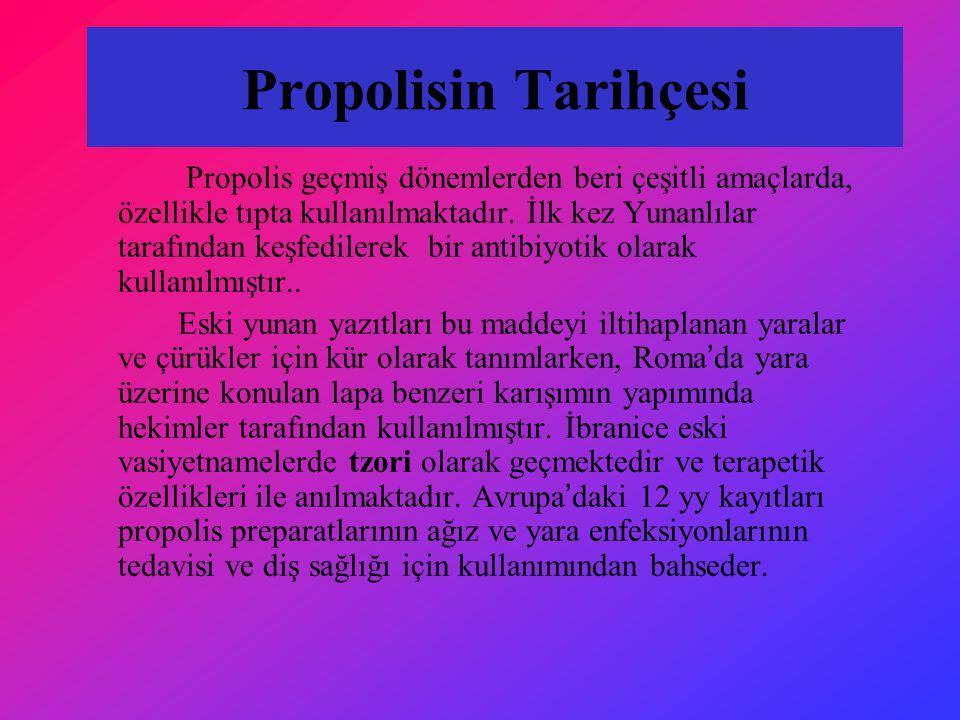 Propolisin Tarihçesi