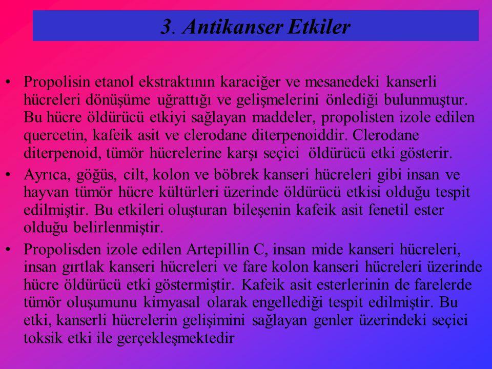 3. Antikanser Etkiler