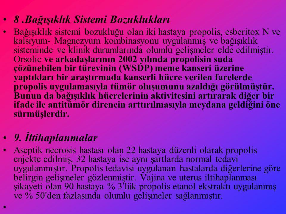 8 .Bağışıklık Sistemi Bozuklukları
