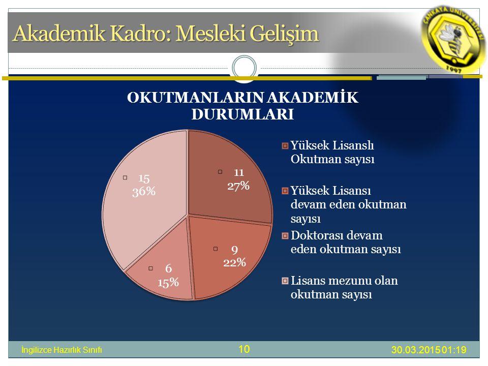 Akademik Kadro: Mesleki Gelişim