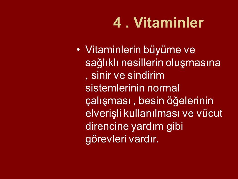 4 . Vitaminler