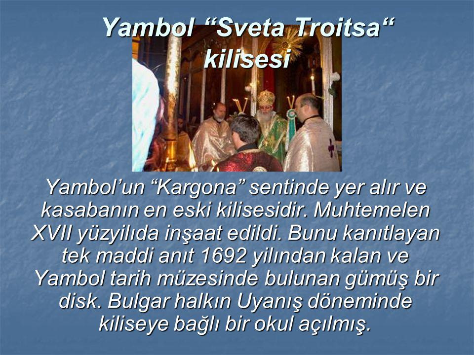 Yambol Sveta Troitsa kilisesi
