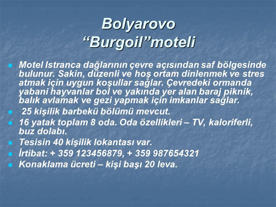 Bolyarovo Burgoil moteli
