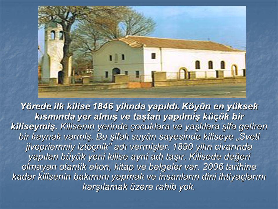 Yörede ilk kilise 1846 yilında yapıldı
