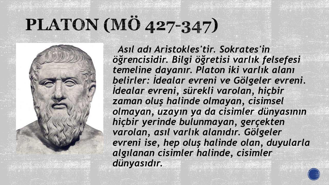PLATON (MÖ 427-347)