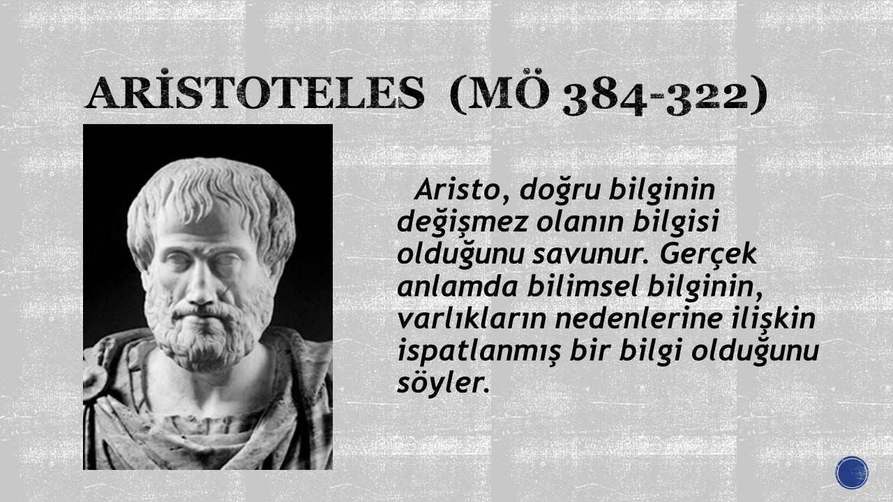 ARİSTOTELES (MÖ 384-322)