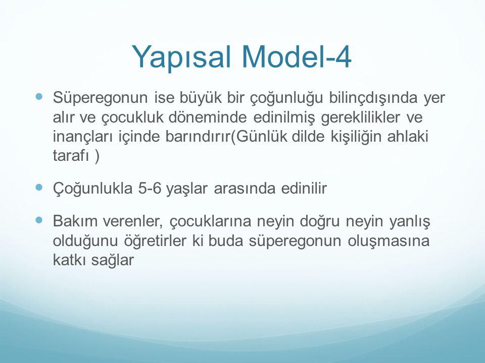 Yapısal Model-4