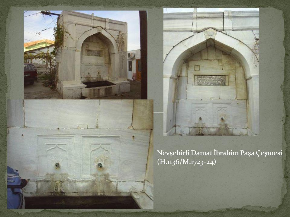 Nevşehirli Damat İbrahim Paşa Çeşmesi