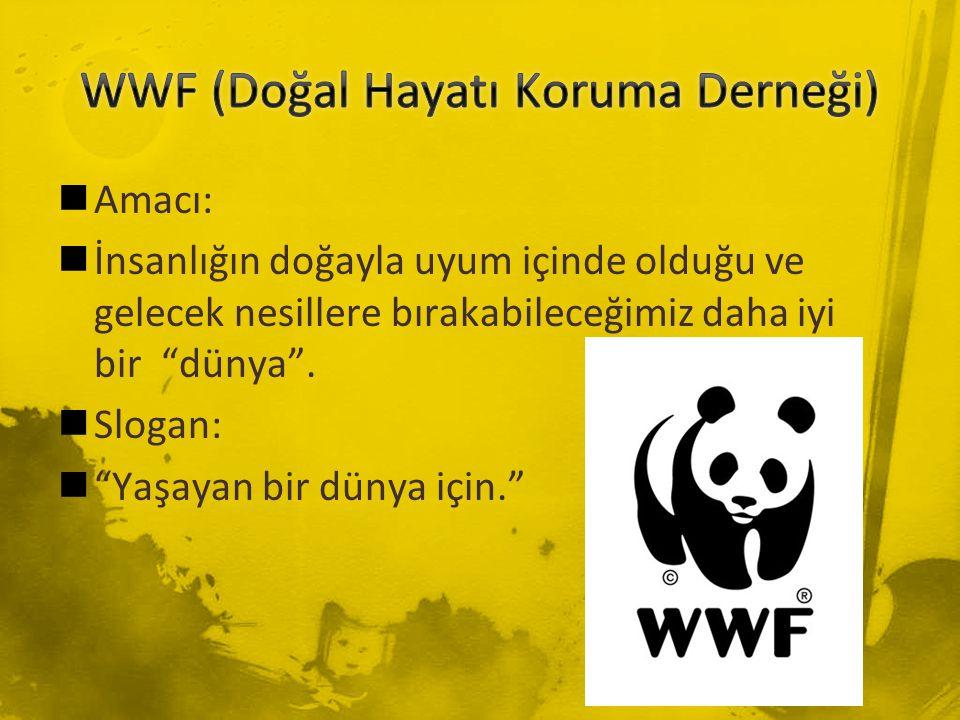 WWF (Doğal Hayatı Koruma Derneği)