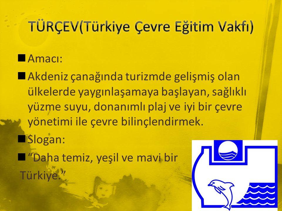 TÜRÇEV(Türkiye Çevre Eğitim Vakfı)