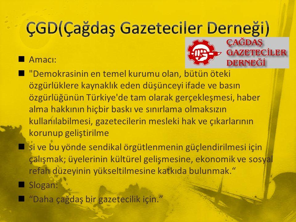 ÇGD(Çağdaş Gazeteciler Derneği)