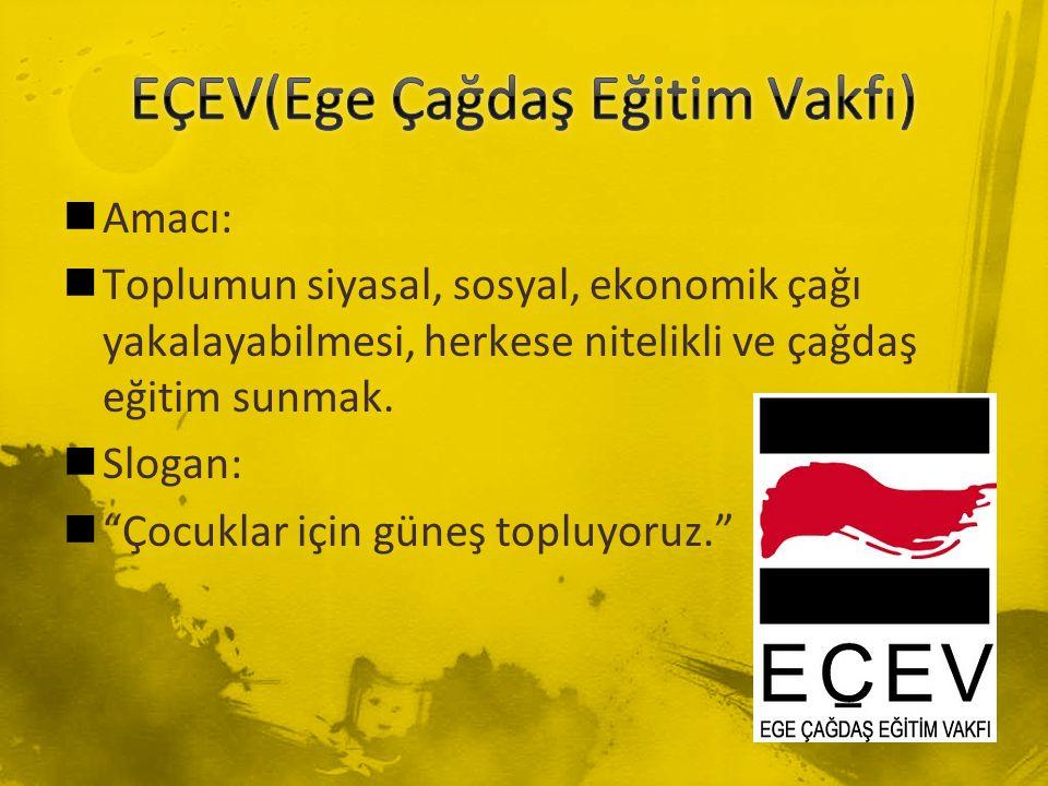 EÇEV(Ege Çağdaş Eğitim Vakfı)