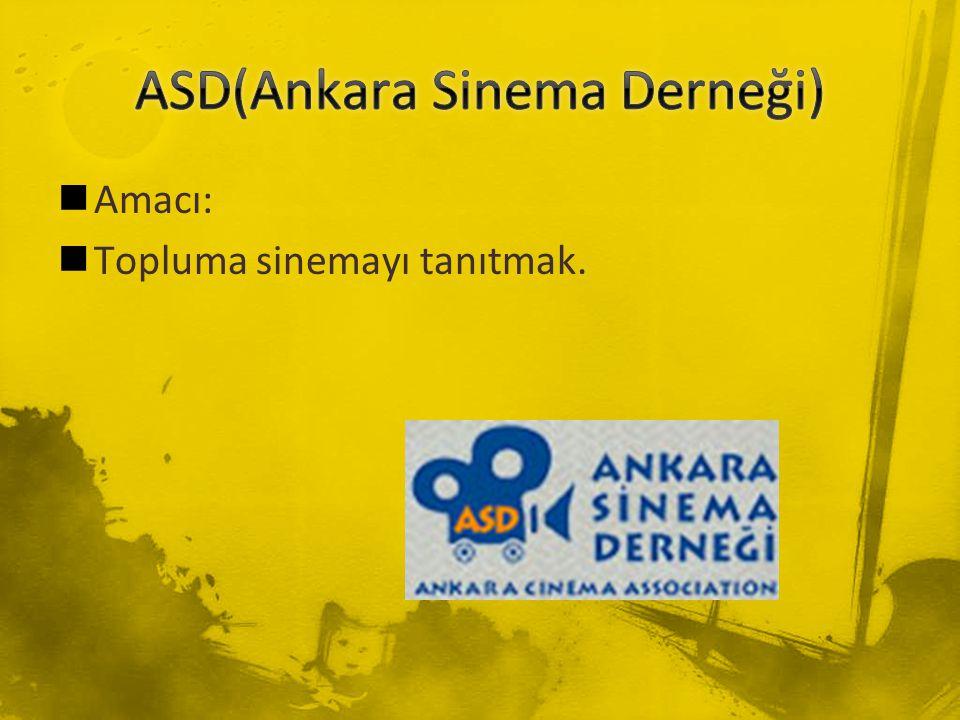 ASD(Ankara Sinema Derneği)