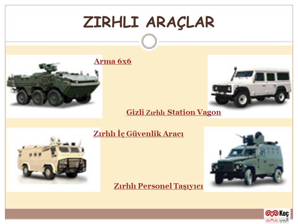 ZIRHLI ARAÇLAR Arma 6x6 Gizli Zırhlı Station Vagon