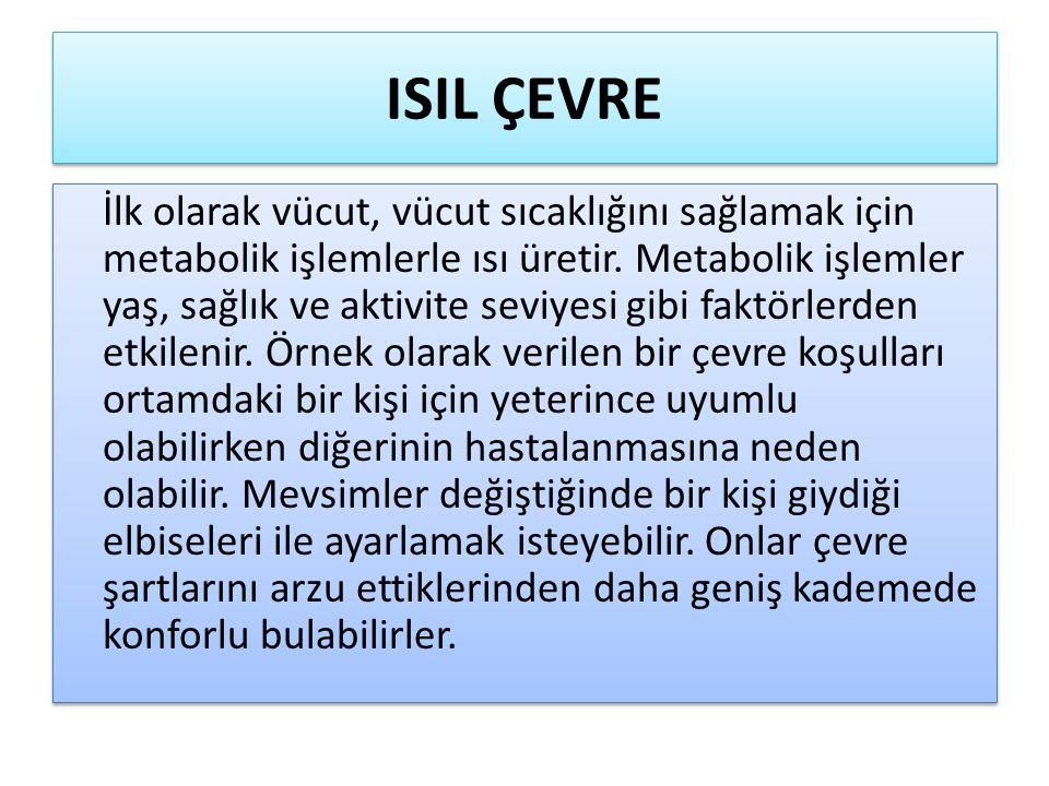 ISIL ÇEVRE